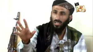 Nasser al-Wahaishi, ledaren för al-Qaida i Jemen.