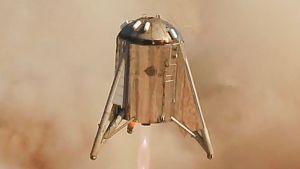 Starhopperilla testattiin Starshipin tekniikkaa.