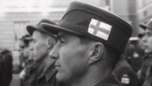 Suomen rauhanturvaajat lähdössä Suezille 1956.