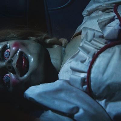 Dockan Annabelle ser allt annat än mysig ut.