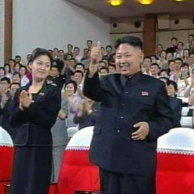 Kvinnan tros vara Hyon Song-Wol, tidigare flickvän till Kim Jong Un