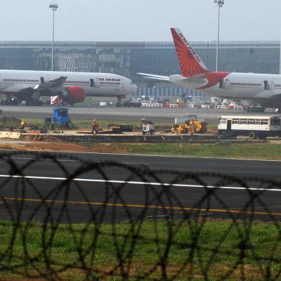 Mumbain lentokenttä.