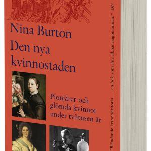 Omslaget till Nina Burtons essäbok Den nya kvinnostaden.