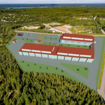 En planerad datacentral i Horsbäck.