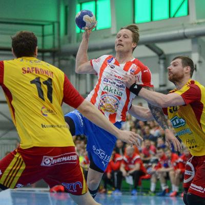 Andreas Rönnberg i finalserien mot Cocks