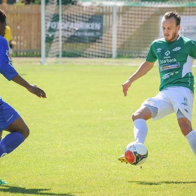 Division 1-match mellan Ekenäs IF och MP.