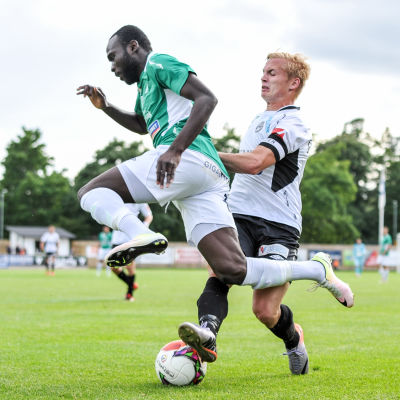 EIF spelar mot FC Haka.