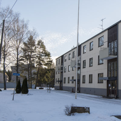 Höghus i Lappvik