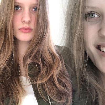 Sofia Öster har tagit bilder på sig själv.