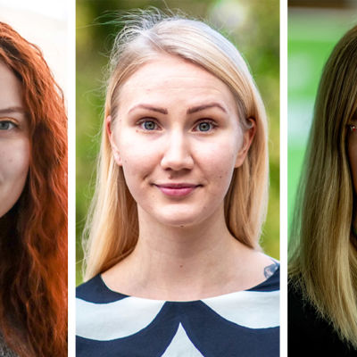Tre kvinnor.