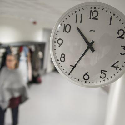 Koulun kello.
