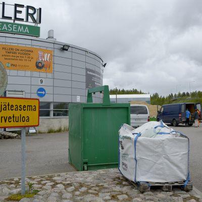 Kujalan jätekeskus Pilleri