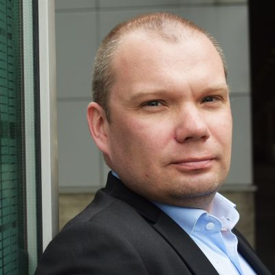 Jarno Pölönen är stationerad i Nigeria.