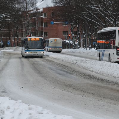 Kuopion joukkoliikenne.