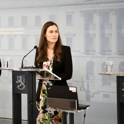 Krista Kiuru, Sanna Marin ja Aino-Kaisa Pekonen
