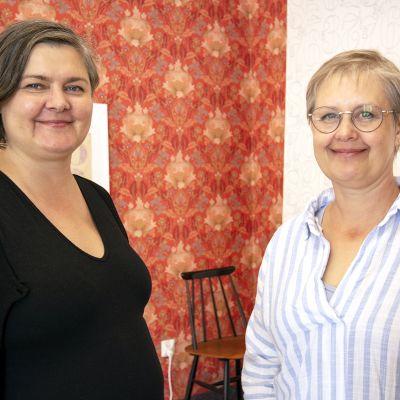 Elina Yrjönen ja Hanna Van Ingen
