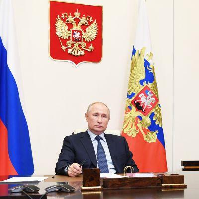 Venäjän presidentin Vladimir Putinin vuosittainen lehdistötilaisuus