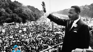 Martin luther king photoshop.