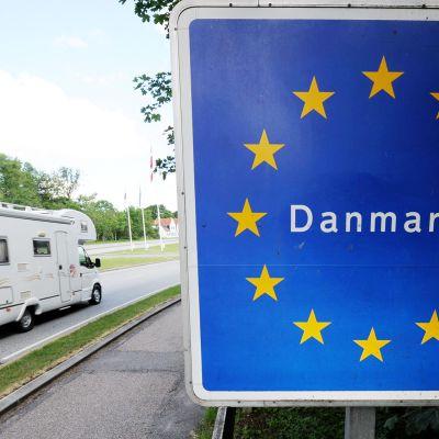 Tanskan ja Saksan välinen rajanylityspaikka.