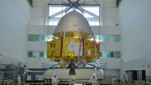 Tianwen-1 -alusta valmistellaan lentoonsa.