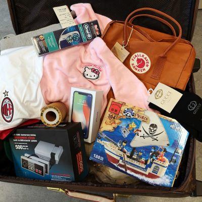 En bild på förfalskade produkter.