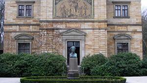 Richard Wagners hemmuseum Haus Wahnfried i Bayreuth.