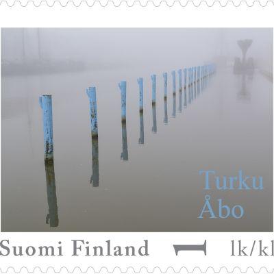 Vinnaren av frimärkestävling i Åbo