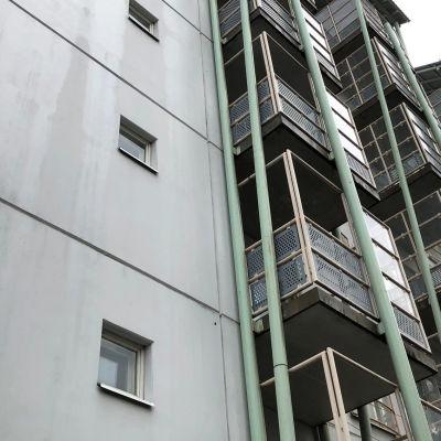 Kuvassa opiskelija-asuntoja