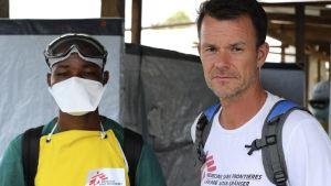 Stefan Liljegren, Ebolacentrum i Liberia