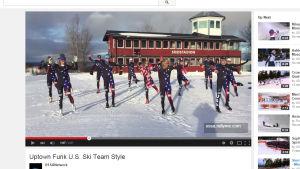 Skärmdump från videon på YouTube.