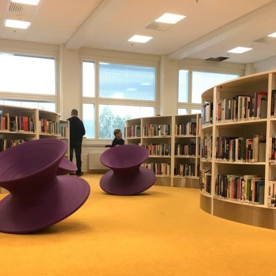 Lahden ammattikorkeakoulun uusi kirjasto