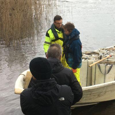 Hoitokalastusta Kymijärvellä
