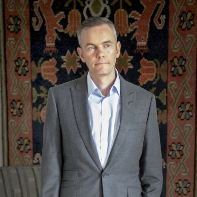 Ylilääkäri Allan Seppänen.