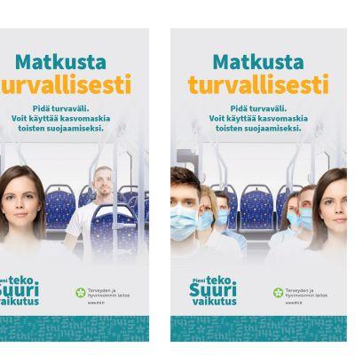 Kuvassa on THL:n keväällä hylkäämää materiaalia, jossa mainitaan maskit koronaviruksen torjunnassa.