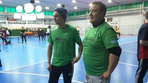 Isac Jousmaa och Mats Sundström.