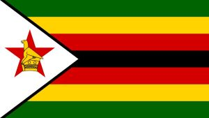 Zimbabwes flagga.