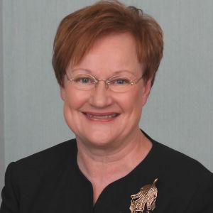 Presidentti Tarja Halosen virallinen kuva