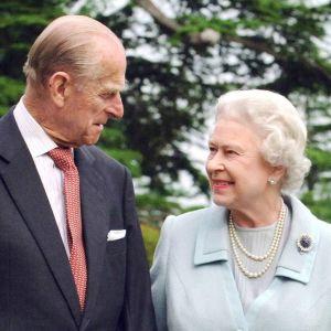 Prins Philip och drottning Elizabeth.
