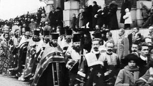 Rauhankappelin vihkiäiset vuonna 1913
