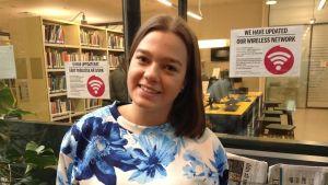 jessica blechingberg studerar företagsekonomi och är aktiv i arcada entrepreneurship society