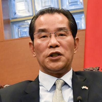 Gui Congyou, Kinas ambassadör i Sverige