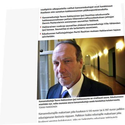 Kuvakaappaus Iltalehden verkkosivuilta.