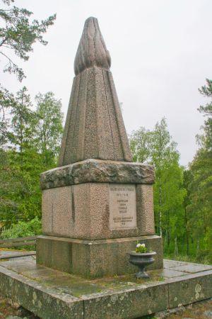 Skärgårdens frikårs monument har stått orubbad på Pensar sedan 1930-talet