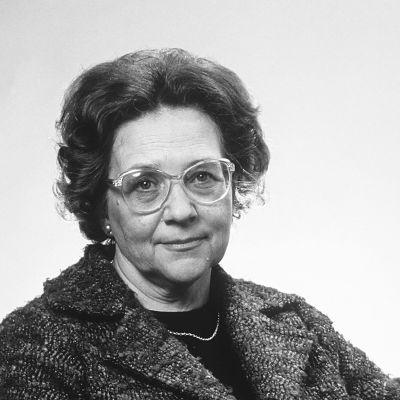 Svartvit bild av Marjatta Väänänen.