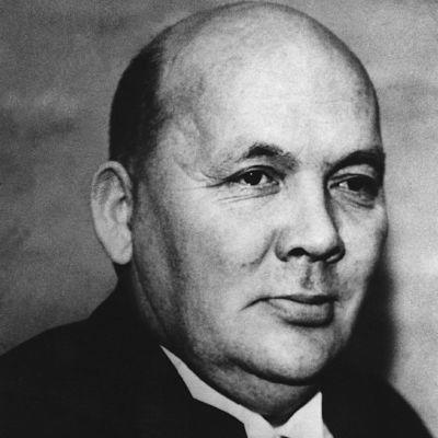 Kirjailija Frans Emil Sillanpää
