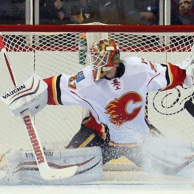 Joni Ortio i Calgarys mål