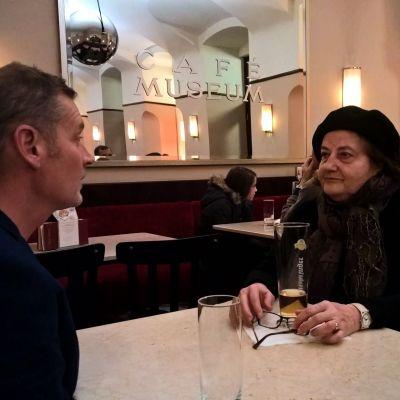 Irina Gavrilovici ja Vesa Kytöoja Wienissä