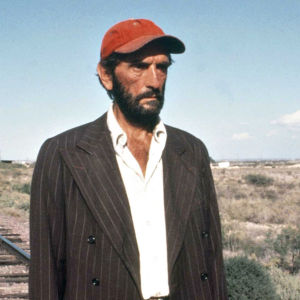 Travis Henderson (Harry Dean Stanton) elokuvassa Paris, Texas