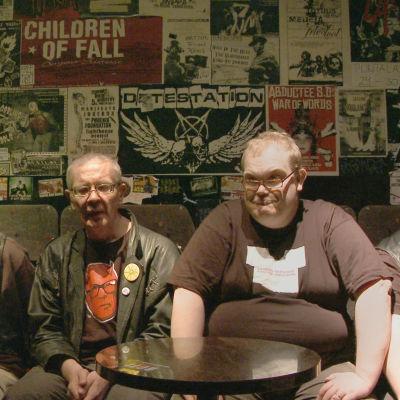 Punk-yhtye Pertti Kurikan Nimipäivät.