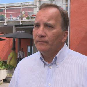 Porträttbild på Sveriges statsminister Stefan Löfven.